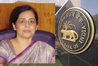 CFO of Reserve Bank of India (RBI) - Sudha Balakrishnan